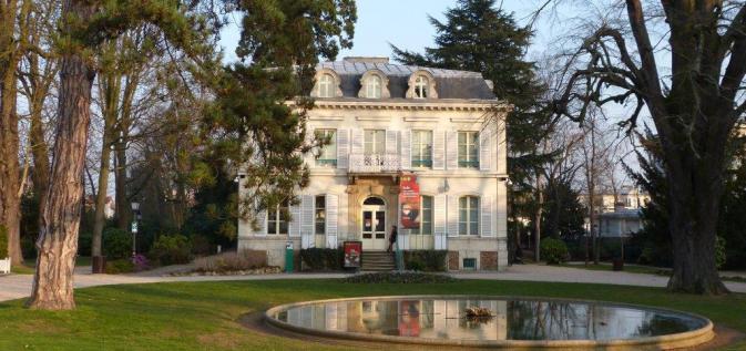La Maison des Arts qui abrite notre musée.