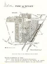 repartition des constructions du parc de sceaux 1929
