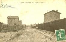 rue de l'ancien chateau en 1913