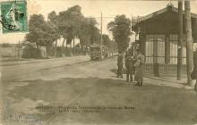 station tramway Croix de Berny vers Bourg-la-Reine